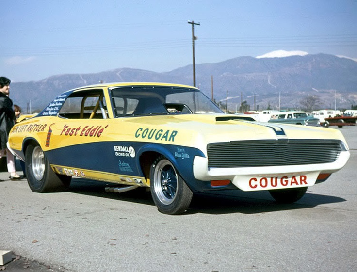 Fast Eddie Schartman's Cougar Funny Car