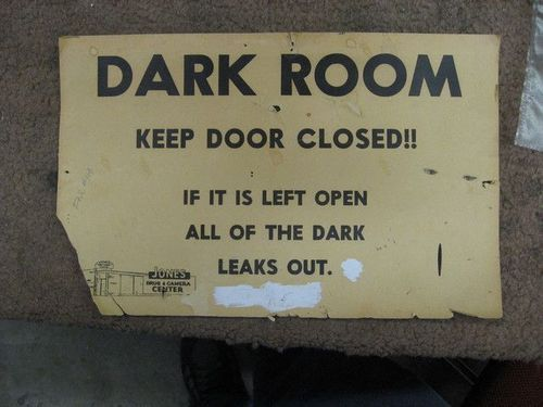 ...: The Doors, Dark Rooms, Dreams Houses, Funny Signs, Schools Photography, Warning Signs, Dark Side, Darkroom, Photography Humor
