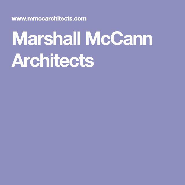 Marshall McCann Architects
