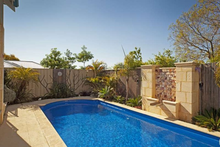 Pool area, Bayswater project