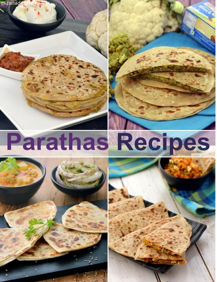 200 Paratha Recipes, Veg Paratha Collection | Page 1 of 15