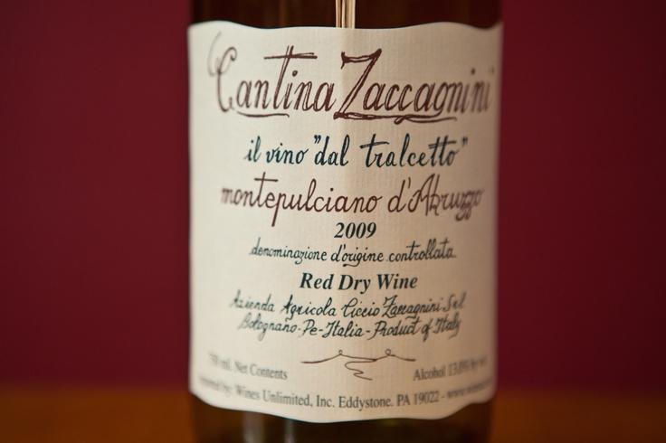 Cantina Zaccagnini Montepulciano d'Abruzzo