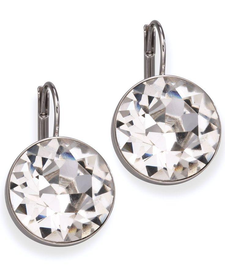 Swarovski Earrings, Bella Crystal Drops - Fashion Earrings - Jewelry & Watches - Macy's