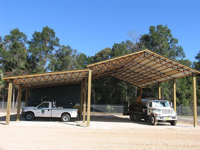 Best 25 steel trusses ideas on pinterest truss for Hay shed plans