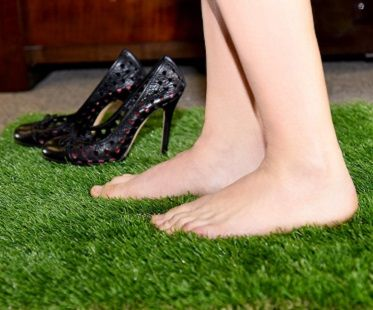 Fake grass rug! (Click for price)