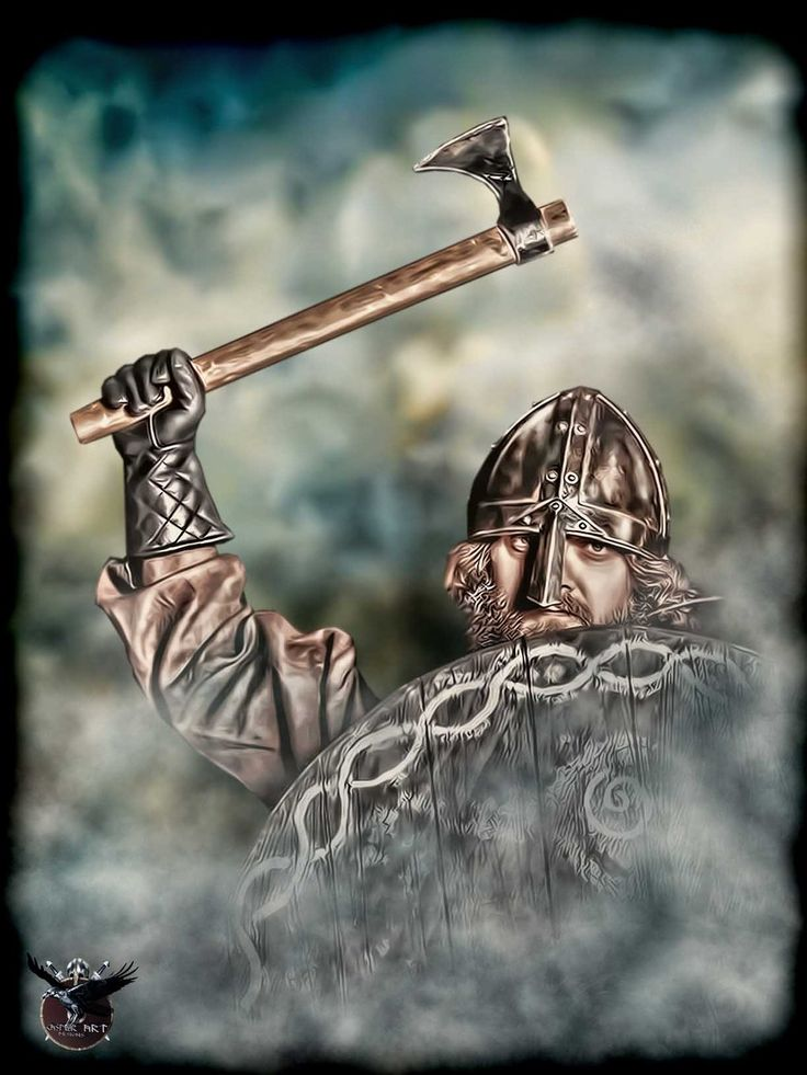 224 best viking warriors images on pinterest norse for Saxon warrior tattoos