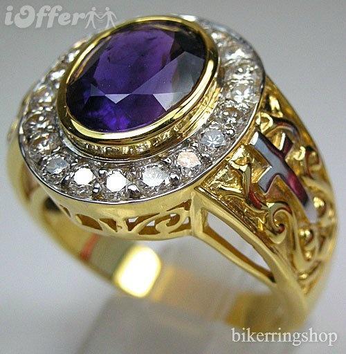 Antique Bishop Christian Rings
