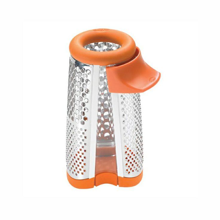 Ralador ergonômico de queijo parmesao Chef´n - Parmesan Grater - laranja/Inox http://monteluce.com.br/chefn/ralador-ergonomico-de-queijo-parmesao-chefn-parmesan-grater-laranja-inox   #decor #decorar #decoracao #casa #monteluce #decoracaodeinteriores #festa #casamento #thisisliving #casa #decor #decoração #servir #receber #lardocelar #querotudo #utilidadesdomesticas #design #interiors #inspire #details #stylish #living  #chefn #utensílios  http://monteluce.com.br