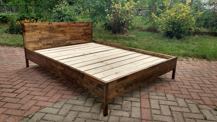 Bed Frame by idobeFurniture on Etsy