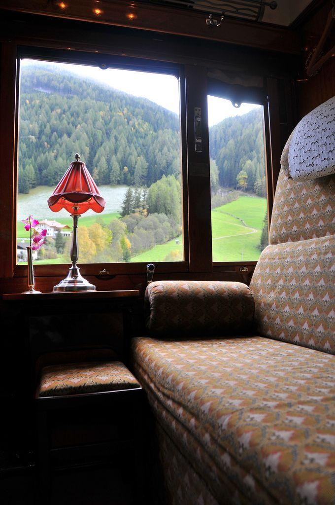 """Orient Express.....wish came true for me....rode it from France to Germany overnight....can you say """"ROMANTIC!"""""""