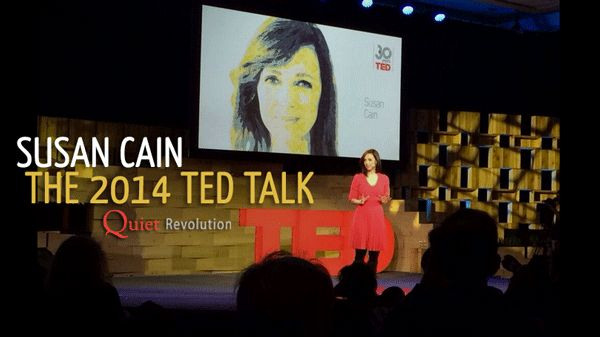 """Susan Cain's 2014 TED Talk 