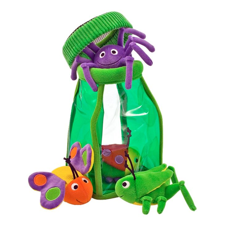 This sweet stuffed ladybug,butterfly from Melissa & Doug will become the constant companion of any tot ages 6-12 months.