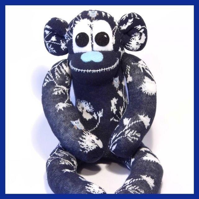 Sock monkey by sunnyteddy Designs £12.00