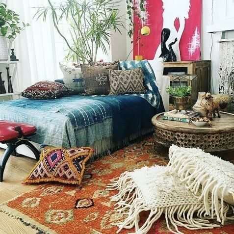 Always a stunner The home of @fleamarketfab #bohemiandecor