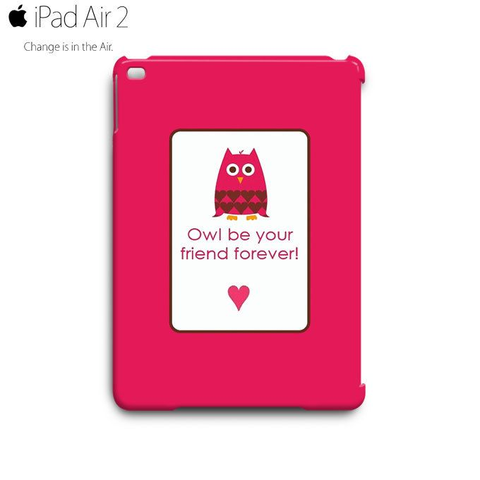 CUTE KAWAII Pinky Owl iPad Air 2 Case Cover Wrap Around