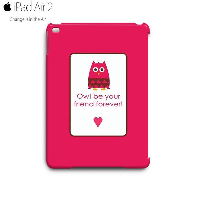 CUTE KAWAII Pinky Owl iPad Air 2 Case Cover Wrap Around