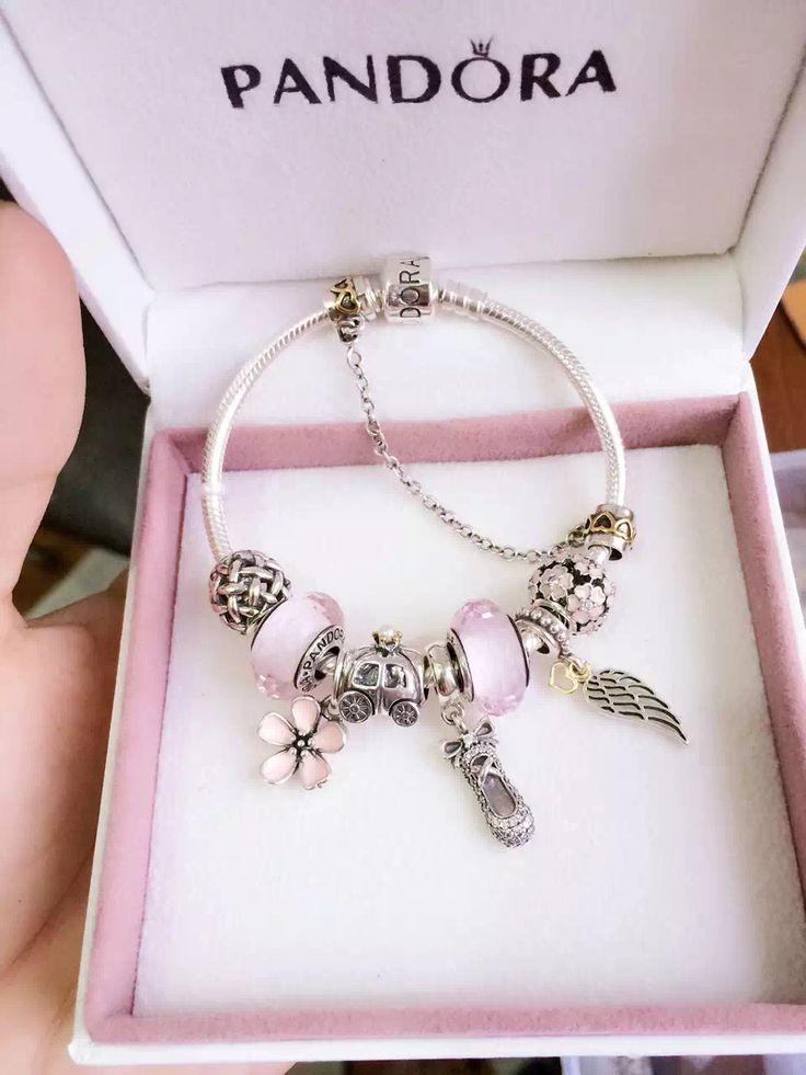 50% OFF!!! $239 Pandora Charm Bracelet. Hot Sale!!! SKU: CB01294 - PANDORA Bracelet Ideas
