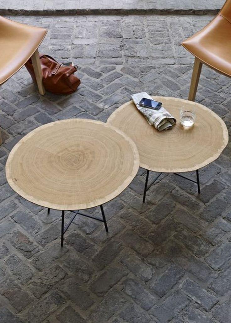 Une table basse ronde pour un salon cosy - Marie Claire Maison