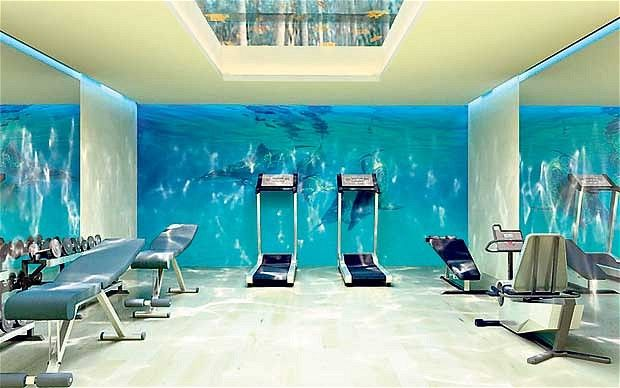 Images about gym wall designs on pinterest home
