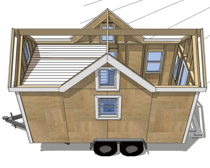 25 best ideas about small mobile homes on pinterest to for How to build your own tiny house on wheels