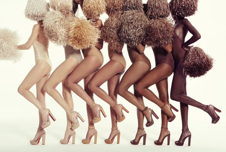 Christian Louboutin unveils new Nudes collection Luxury shoe designer Christian Louboutin is taking his 'Nudes' collection to the next level. The footwear brand introduces two sandal styles in seven different hues that will match a variety of skin tones. First, Louboutin transformed his Cherrysandal with a platform silhouette and block heel. Related: Christian Louboutin Launches …