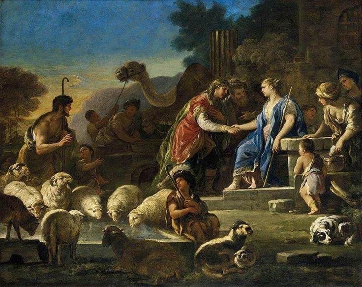 The Athenaeum - Jacob and Rachel at the Well (Luca Giordano - )