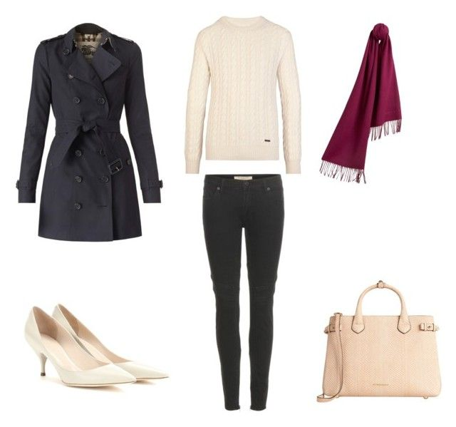 """""""The Burberry Festive November Collection"""" by samyangelo on Polyvore featuring moda, Burberry, Nina Ricci, November, fashionset y fall2015"""