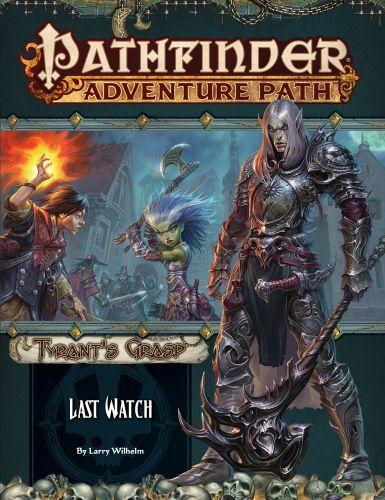 Tyrant's Grasp, Pathfinder, RPG, Paizo, game, gaming, Golarion, lich
