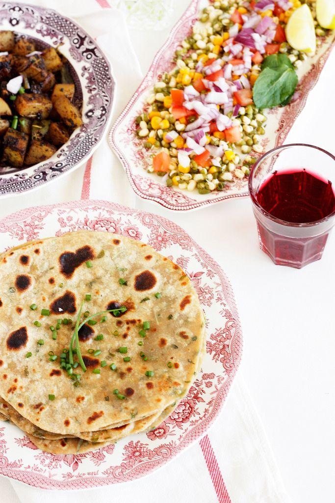Methi - Paneer Paratha Recipe | Simple Paratha Recipe