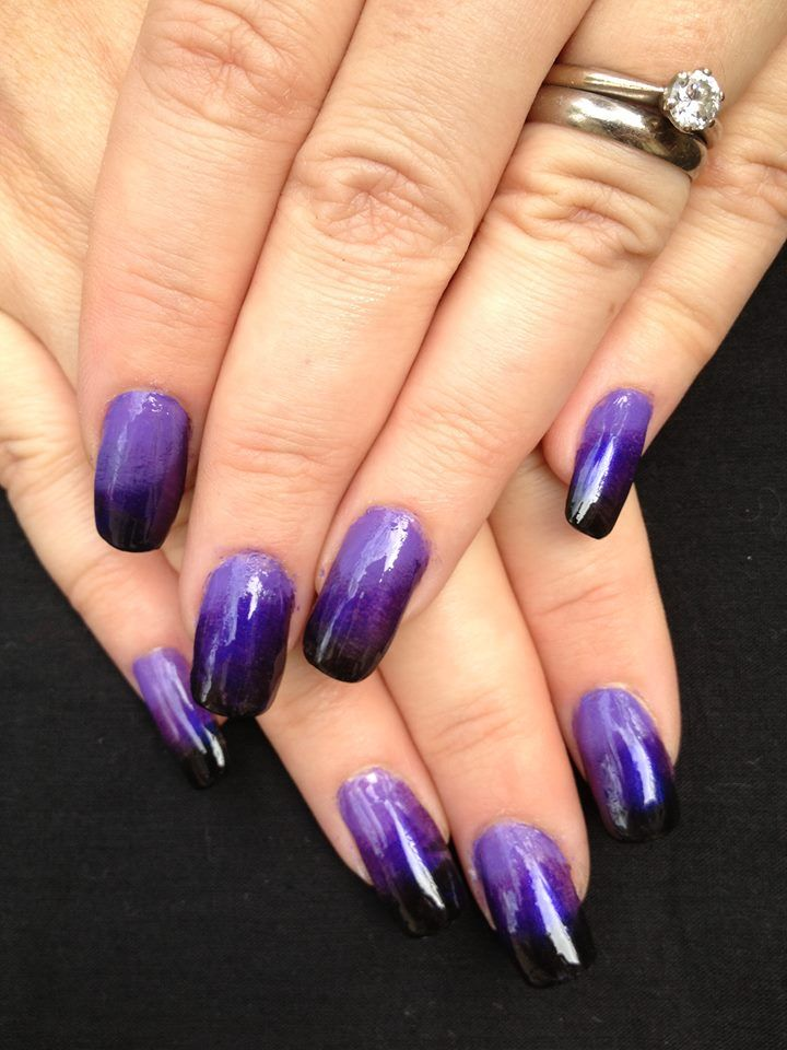 Gorgeous Ombre' nails by Wiccid