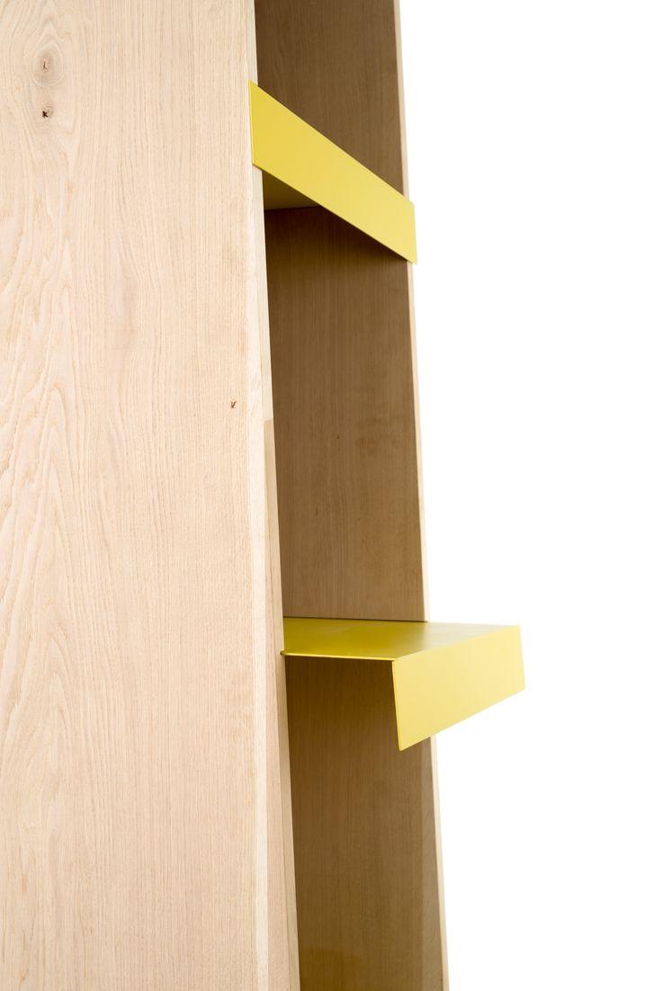 Libera | Bookcase Designer: @binax  Brand: Offiseria Art Direction: @gradosei  Ph: Emanuele Chiaverini
