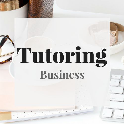 Tips & Resources for Aspiring Single Moms interested in starting a tutoring business. | Starting a tutoring business | How to start a tutoring business | Tutoring business tips | Tutoring business ideas | How to start a private tutoring business |