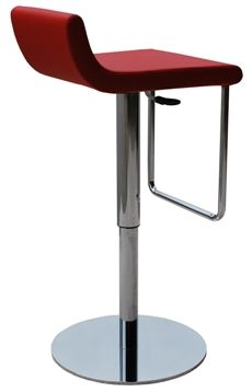 modern adjustable height stool for home bar height restaurant bar or hotel dublin piston stool adjusts from counter stool height