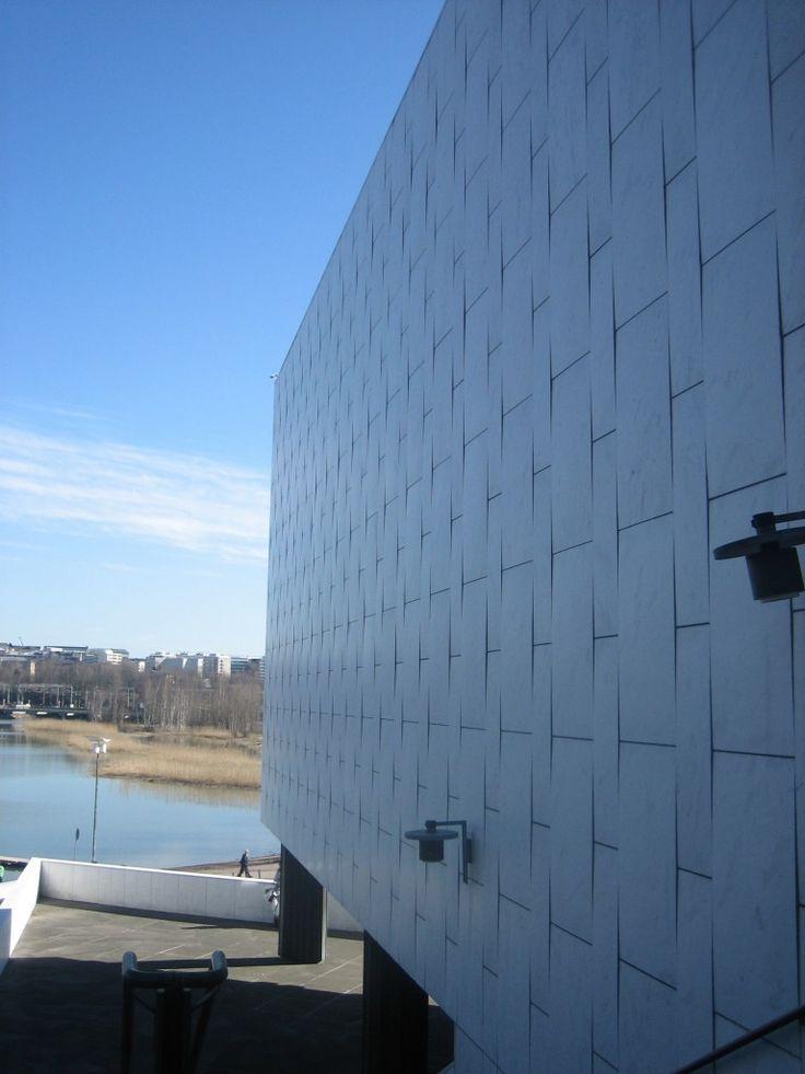 Finlandia Hall (1967-1971)   Alvar Aalto