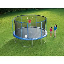 I think this might be an early birthday present  Sportspower Trampoline with Steel Flex Enclosure - 14 foot