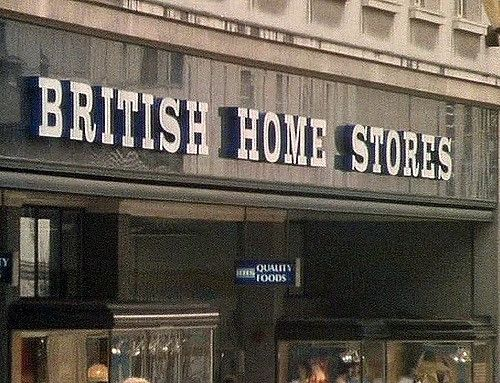 British Home Stores on THE MOOR, SHEFFIELD from the mid 80s