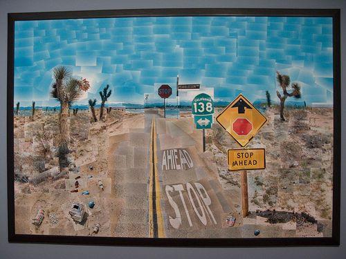AP 2D Design Hockney Inspired Cubist Photo assignment
