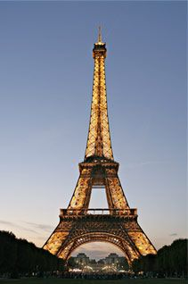 The Eiffel Tower. Views from both the top & bottom are attestaments to the wonders than man can build.