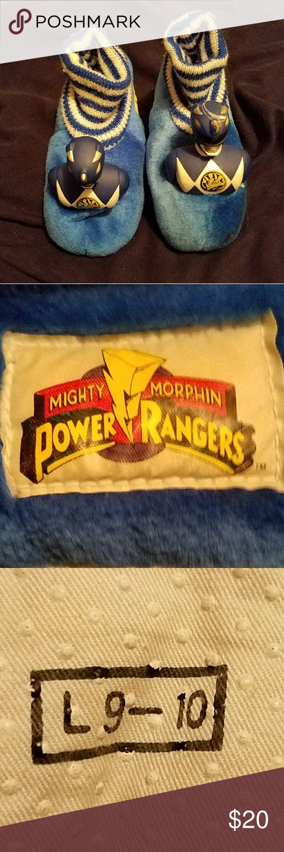 Kids Power Ranger Slippers Mighty Morphin Powder Ranger Slippers Power Ranger Shoes Slippers