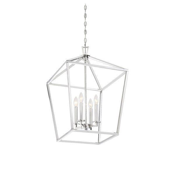 Israel 4 Light Lantern Chandelier | Lantern chandelier