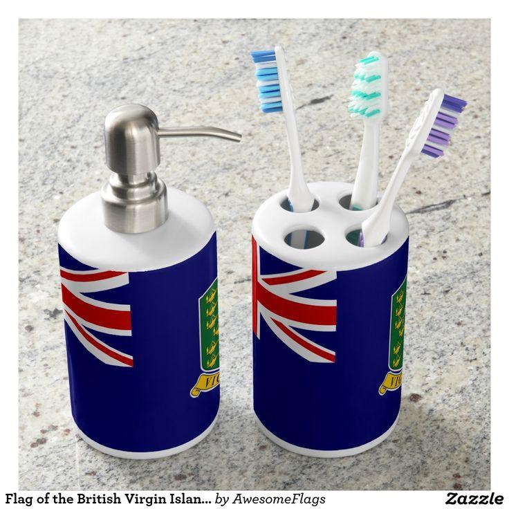 Flag of the British Virgin Islands Bath Set