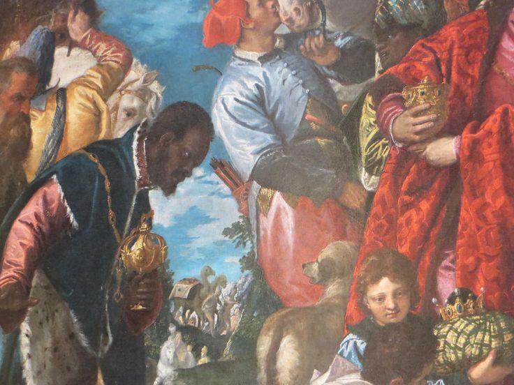 """""""Adoration des Mages"""", détail, 1578, Véronese, chapelle de Saint Joseph, église Santa Corona (XIIIe), contrà Santa Corona, Vicence, province de Vicence, Vénétie, Italie.   par byb64"""