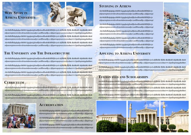 College Brochure 2 - Greek