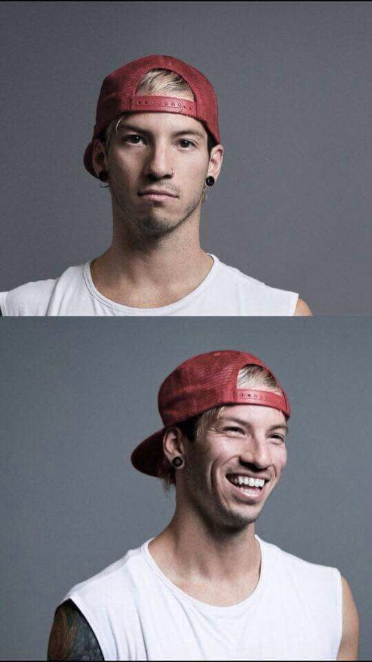 Josh Dun for Rock Sound Magazine