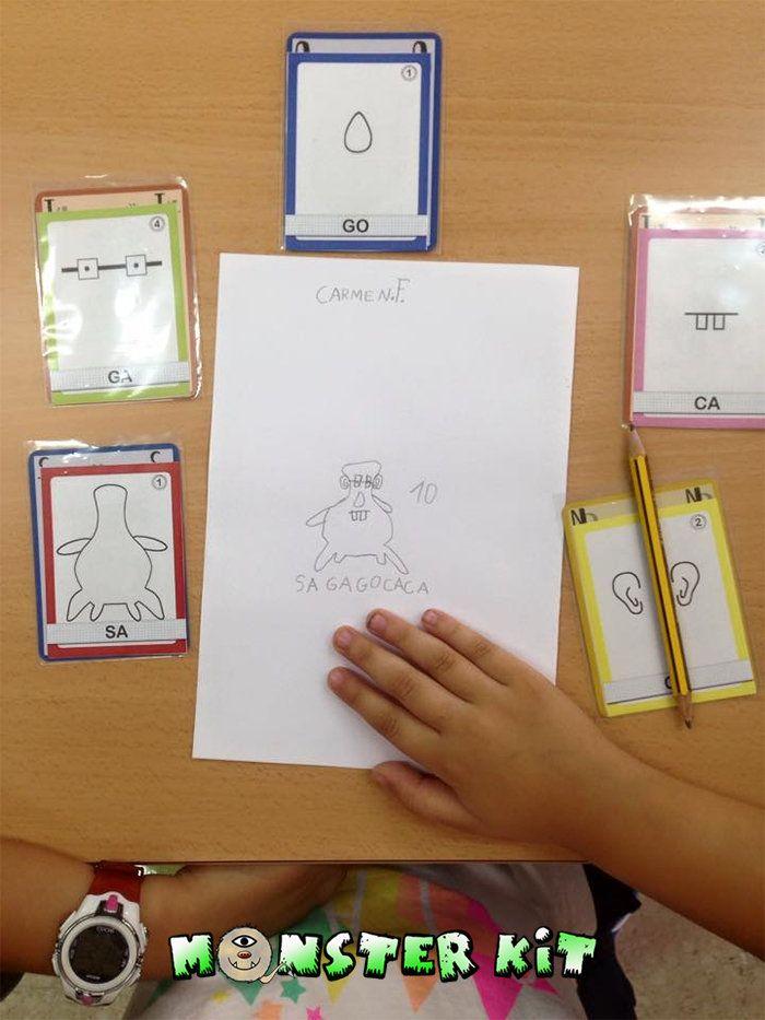 Monster Kit es un juego que permite practicar habilidades creativas de una forma divertida. Un juego donde los más pequeñ@s (y no tan pequeños) podrán dibujar, escribir/leer, hacer cálculos y desarrollar su imaginación en solitario o acompañado creando simpáticos monstruos.