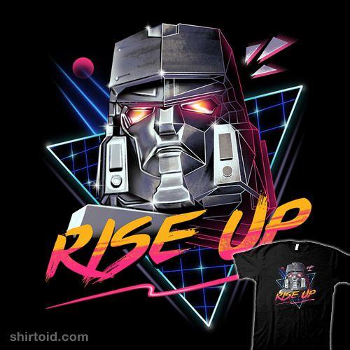 Rise Up  Megatron tee