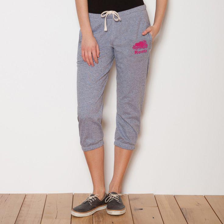 Lightweight Cropped Sweatpant | Women's Bottoms Crops and Capris | Roots