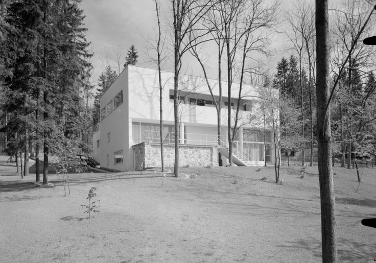 Architecture Photography of Villa Ditlev-Simonsen by Teigens Fotoatelier, 1937. DEXTRA Photo, CC BY