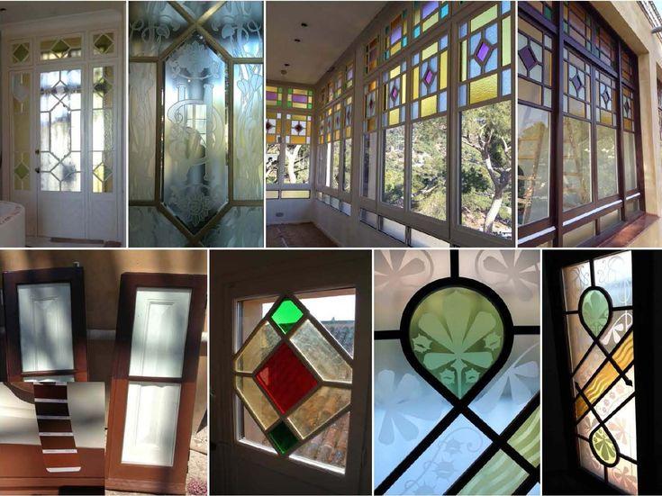 ventanas con vidrios de colores - Buscar con Google
