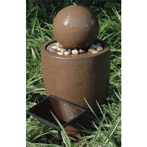 Garden Solar Water Feature LH1073 Pot With Ball